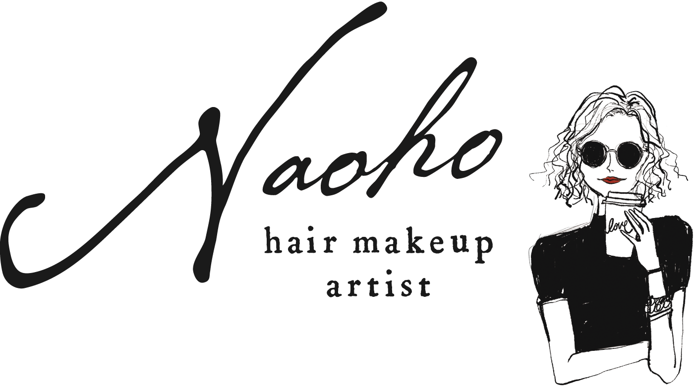 hair makeup artist Naoho